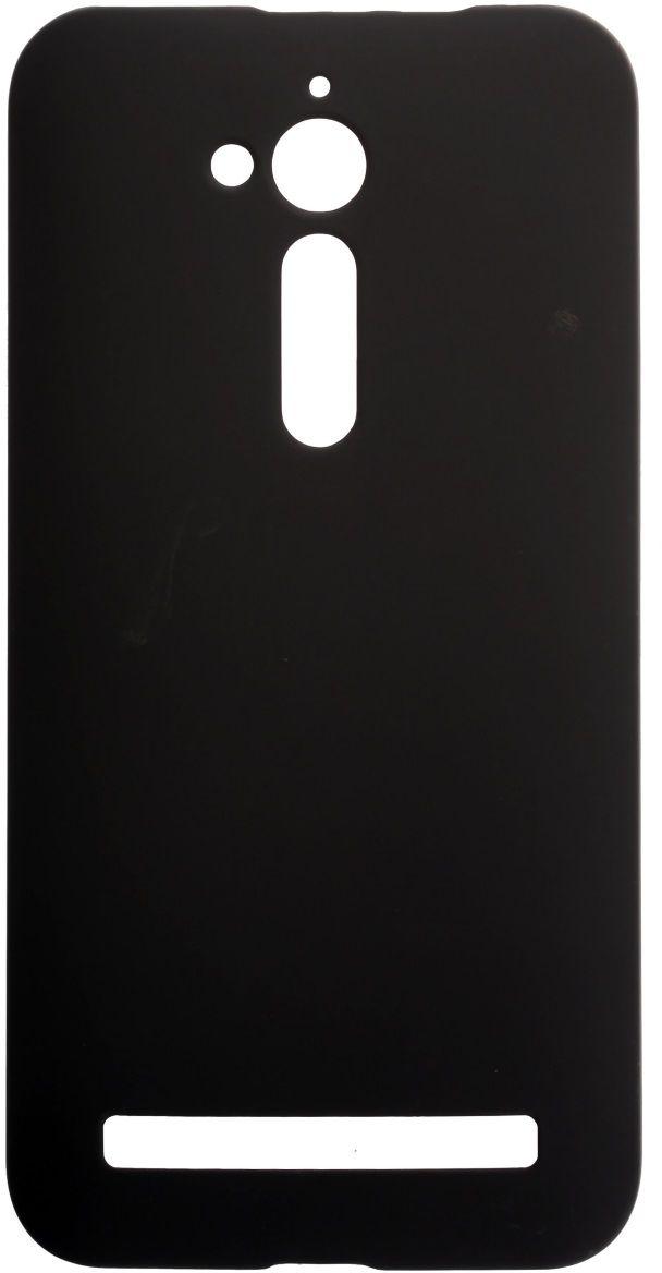 Skinbox 4People чехол + пленка для ASUS ZenFone Go (ZB500KL), Black2000000123646Чехол надежно защищает ваш смартфон от внешних воздействий, грязи, пыли, брызг. Он также поможет при ударах и падениях, не позволив образоваться на корпусе царапинам и потертостям. Чехол обеспечивает свободный доступ ко всем функциональным кнопкам смартфона и камере.