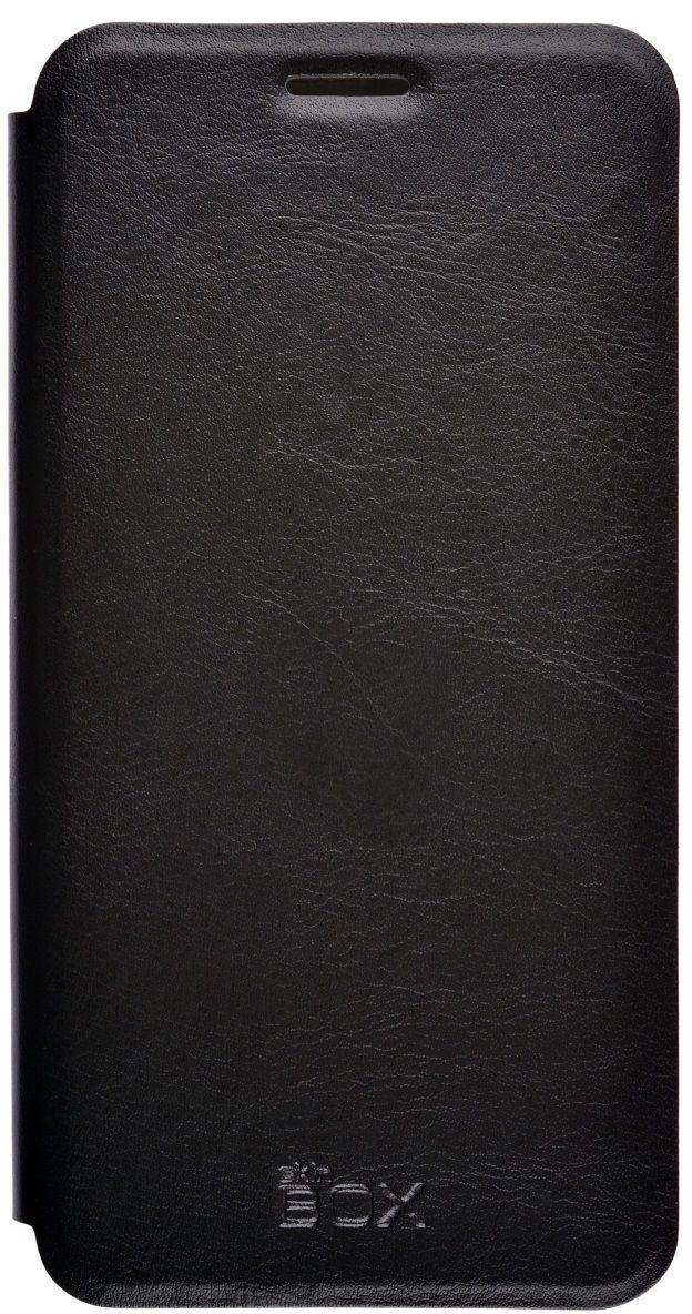 Skinbox Lux чехол для Samsung Galaxy On7 (SM-G600F), Black накладка защитная skinbox samsung galaxy on7 sm g600f