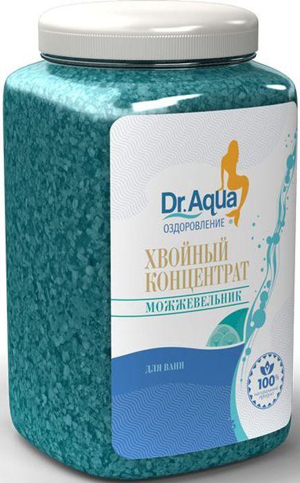 Dr. Aqua Хвойный концентрат Можжевельник, 750 г11Соли для ванн серии Аква-Оздоровление эффективно восстановят организм после эмоциональных и физических нагрузок.Хвойный концентрат— прекрасное гигиеническое и тонизирующее средство для ухода за вашей кожей. Ванны с можжевеловым хвойным концентратом отлично восстановят силы, добавят бодрости и жизненной энергии.
