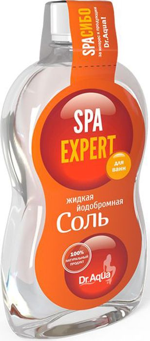 Dr. Aqua Жидкая йодобромная соль Аква-Spa Expert, 600 мл vento spa aqua la 1500