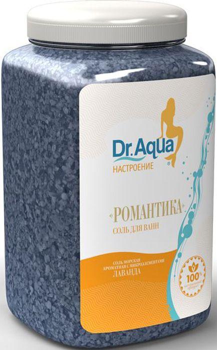 Dr. Aqua Соль морская ароматная Романтика, с экстрактом лаванды, 750 г20Соли для ванн серии Аква-Настроение -настройся на свой лад! Создай себе Романтическое - настроение!Натуральное эфирное масло Лаванды освежает и тонизирует кожу, является общеукрепляющим и успокаивающим средством.Природная морская соль Верхнекамского месторождения является уникальным оздоравливающим средством. Она идеально подходит для проведения SPA - процедур в домашних условиях. При растворении соли в воде образуется естественный осадок – это целебная межкристаллическая глина, которая содержит в себе более 40 жизненно важных макро и микроэлементов.Регулярный прием ванн с морской солью поддерживает процесс обновления клеток кожи, усиливает ее защитные функции, сохраняет молодость и здоровье.