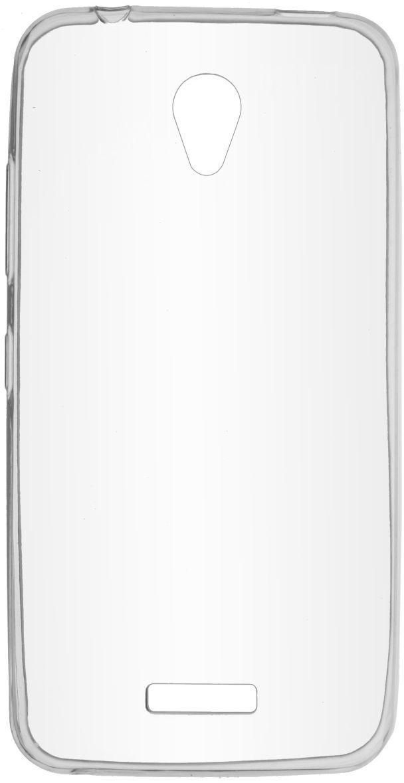 Skinbox Slim Silicone чехол для Lenovo A2016, Transparent2000000100333Чехол надежно защищает ваш смартфон от внешних воздействий, грязи, пыли, брызг. Он также поможет при ударах и падениях, не позволив образоваться на корпусе царапинам и потертостям. Чехол обеспечивает свободный доступ ко всем функциональным кнопкам смартфона и камере.