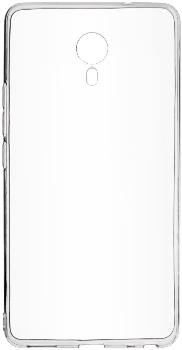 все цены на Skinbox Slim Silicone чехол для Meizu M3 Max, Transparent онлайн