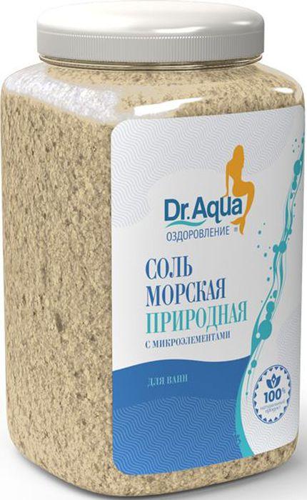 Dr. Aqua Соль морская природная, 750 г9Соли для ванн серии Аква-Оздоровление эффективно восстановят организм после эмоциональных и физических нагрузок.Природная морская соль Верхнекамского месторождения является уникальным оздоравливающим средством: она идеально подходит для проведения SPA-процедур в домашних условиях. При растворении соли в воде образуются естественные взвесь и осадок — это целебная межкристаллическая глина, которая содержит в себе более 40 жизненно важных макро- и микроэлементов.Регулярный прием ванн с морской солью поддерживает процесс обновления клеток кожи, усиливает ее защитные функции, сохраняет молодость и здоровье.