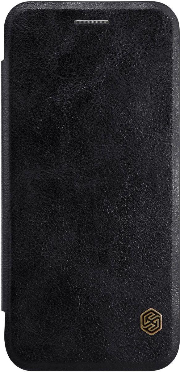 Nillkin Qin Leather Case чехол для Google Pixel XL, Black2000000116150Чехол Nillkin Qin Leather для Google Pixel XL надежно защищает ваш смартфон от внешних воздействий, грязи, пыли, брызг. Он также поможет при ударах и падениях, не позволив образоваться на корпусе царапинам и потертостям. Чехол обеспечивает свободный доступ ко всем функциональным кнопкам смартфона и камере. Имеет карман для пластиковых карт.