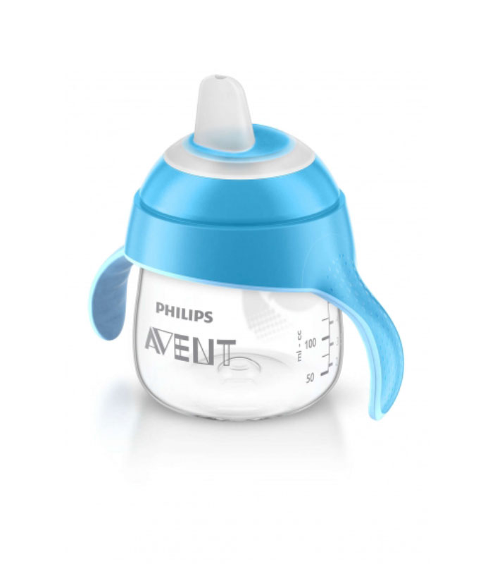Philips Avent Волшебная чашка-непроливайка от 6 месяцев цвет: голубой, 200 мл SCF751/00 крем от растяжек avent спб купить