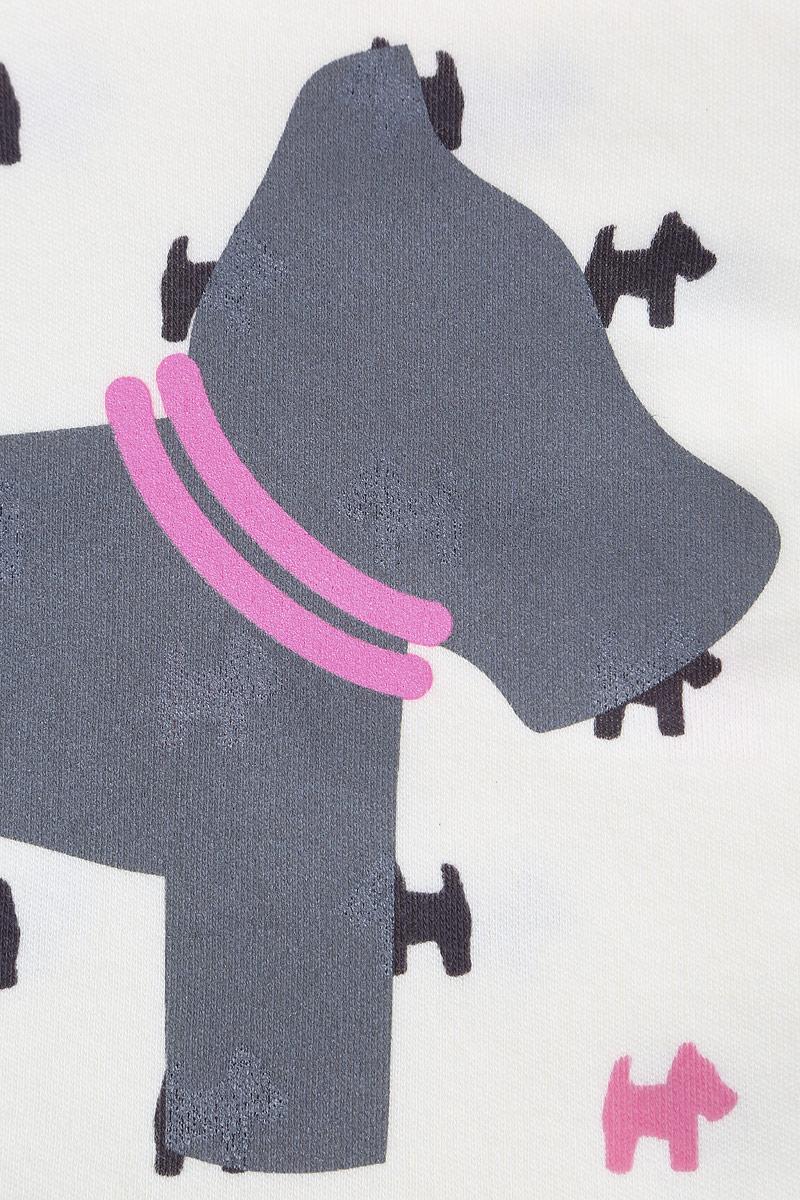Лонгслив для девочки КотМарКот, цвет:  розовый.  7913.  Размер 74 КотМарКот