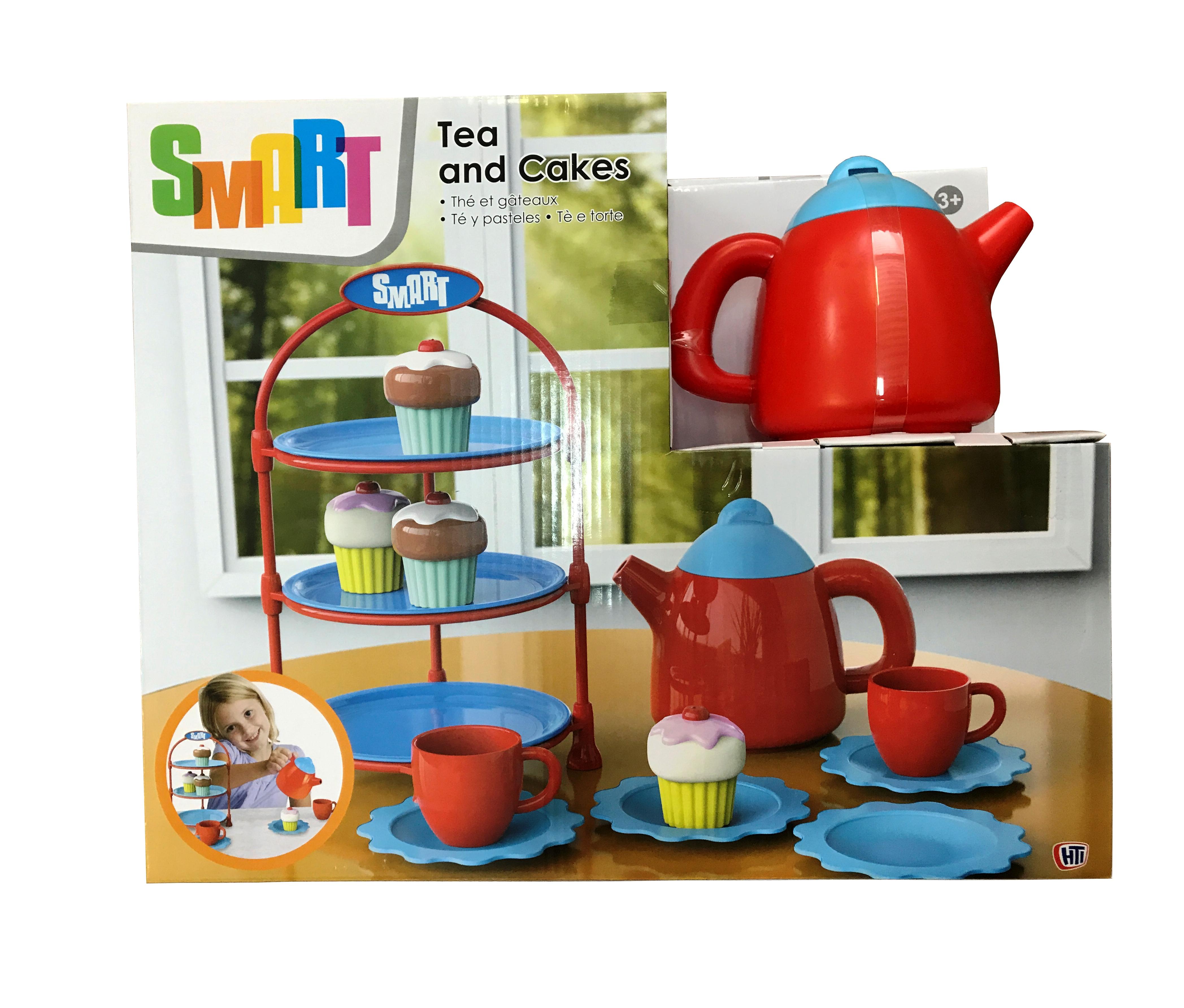HTI Набор для чая с кексами Smart hti игровой набор микроволновая печь smart