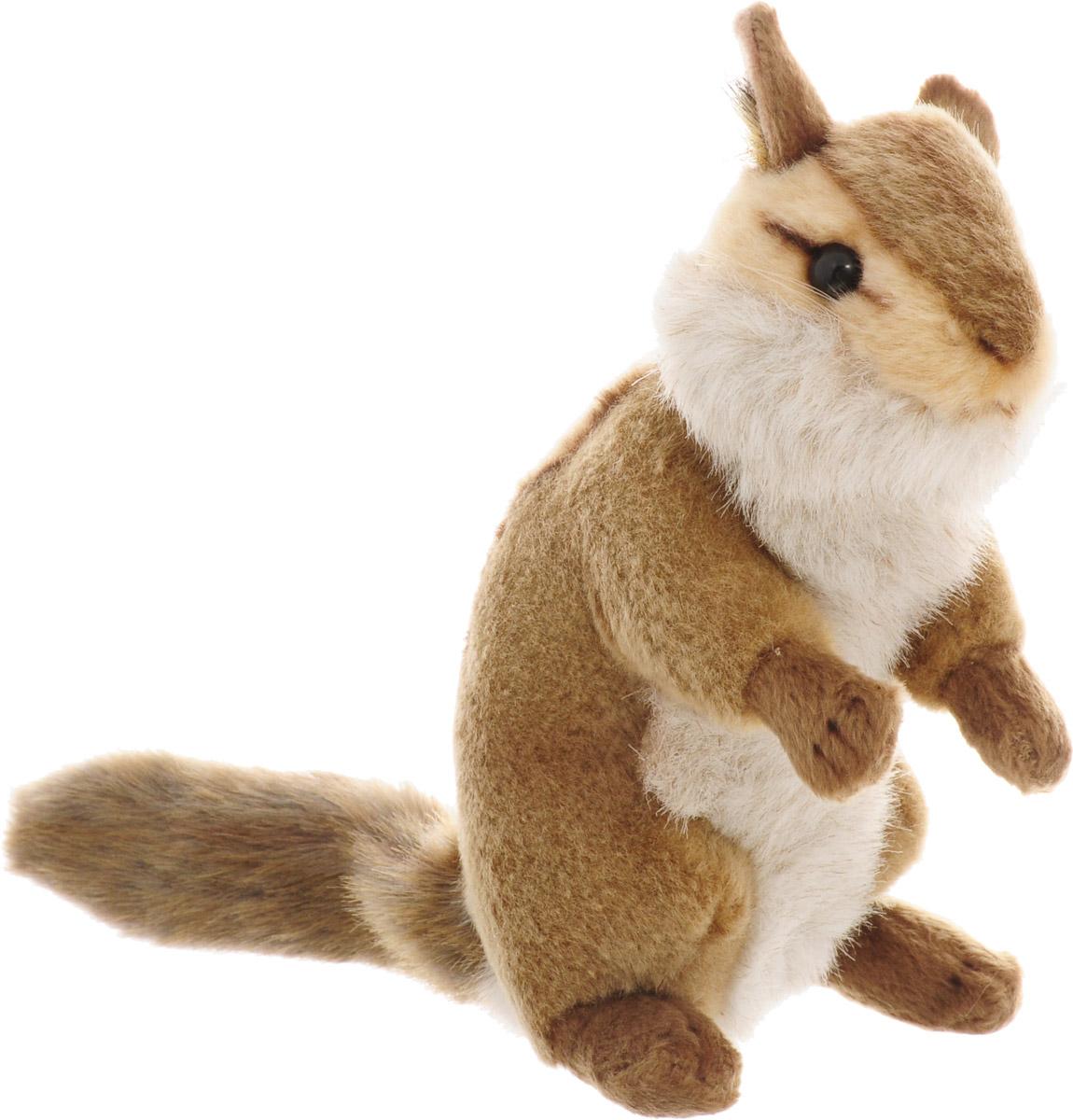 Hansa Мягкая игрушка Бурундук сидящий 16 см мягкие игрушки hansa бурундук сидящий 16 см