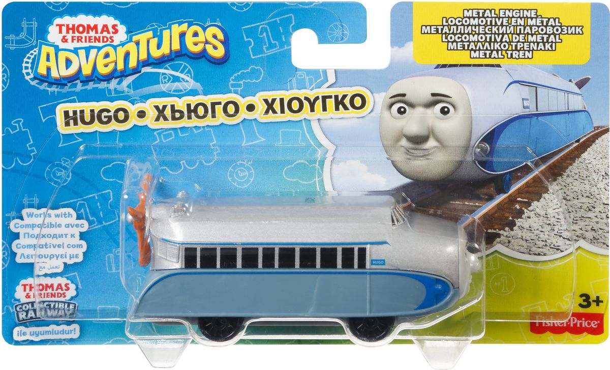 Thomas & Friends Паровозик Хьюго