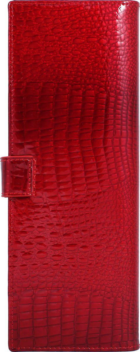 Визитница женская Malgrado, цвет: красный. 42001-44 ключницы malgrado 50501 13801d red page 3