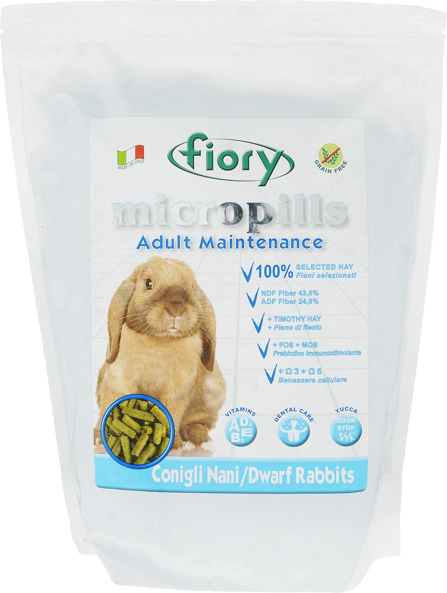 Корм сухой Fiory Micropills Dwarf Rabbits для карликовых кроликов, 2 кг6327Корм сухой Fiory Micropills Dwarf Rabbits - это повседневный сбалансированный корм для взрослых декоративных кроликов с 10 месяцев.Корм содержит сено второго укоса, витамины и хелатные минералы. Не содержит зерно. Кварц в составе позволяет стачивать зубы. NDF-клетчатка 43,6% и ADF-клетчатка 24,8% в составе корма - это полезная клетчатка, потребляемая кроликами в природе.Комплекс нутрицевтиков для правильного развития: дрожжи, инулин цикория, ФОС, продукты растительного происхождения, бета-глюканы, нуклеотиды, юкка Шидигера, масло огуречника (Омега-6) и жирные кислоты (Омега-3 DHA+EPA+DPA).Корм выполнен в виде гранул одинакового размера. Исключает пищевое селективное поведение. Упаковка с замком зип-лок надолго сохранит корм свежим. Товар сертифицирован.