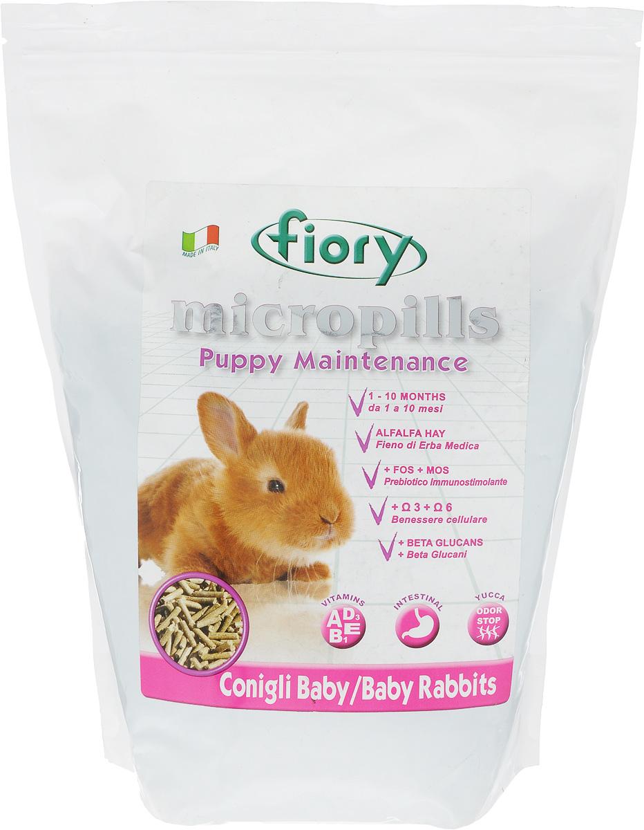 Корм сухой для крольчат Fiory Micropills Baby Rabbits, 2 кг6322Корм сухой Fiory Micropills Baby Rabbits - это сбалансированный корм для крольчат декоративных пород до 10 месяцев. Предназначен для поддержания роста молодого организма и содержит все необходимые питательные вещества для данного периода жизни. В основе корма обезвоженная трава люцерны, которая является источником белка. Малый процент молока обеспечивает корму вкусовую привлекательность и помогает крольчонку более комфортно перейти от питания материнским молоком к сухой пище. Небольшая часть зерновых дает необходимые питательные элементы в этот период.Полезные нутрицевтики (дрожжи, инулин цикория, ФОС, продукты растительного происхождения, бета-глюканы, нуклеотиды, юкка Шидигера, масло огуречника (Омега-6) и жирные кислоты (Омега-3 DHA+EPA+DPA)) способствуют правильному пищеварению, укрепляют иммунную систему, повышают усвоение минеральных веществ, улучшают работу сердца и сосудов, играют важную роль в развитии головного мозга и зрения, способствуют здоровой коже и шерсти. Хелатные минералы помогают правильному развитию нервной и костной систем организма крольчонка. Корм выполнен в виде гранул одинакового размера. Упаковка с замком зип-лок надолго сохранит корм свежим. Товар сертифицирован.
