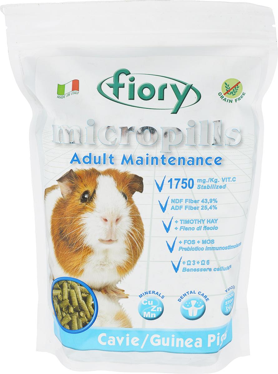 Корм сухой для морских свинок Fiory Micropills Guinea Pigs, 850 г корм флатазор купить в ульяновске