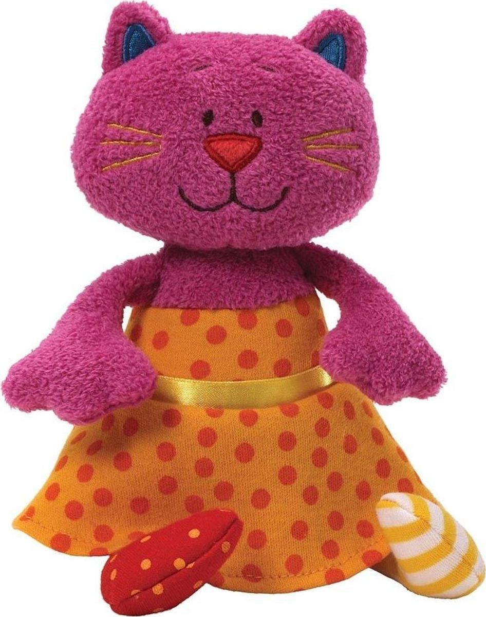 Gund Мягкая игрушка Sock Hop Chime Missy Meow 20 см - Мягкие игрушки