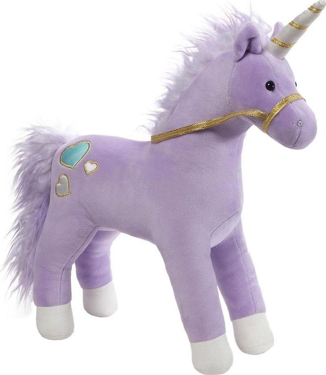 Gund Мягкая игрушка Bluebell Purple Unicorn 33 см малышарики мягкая игрушка собака бассет хаунд 23 см