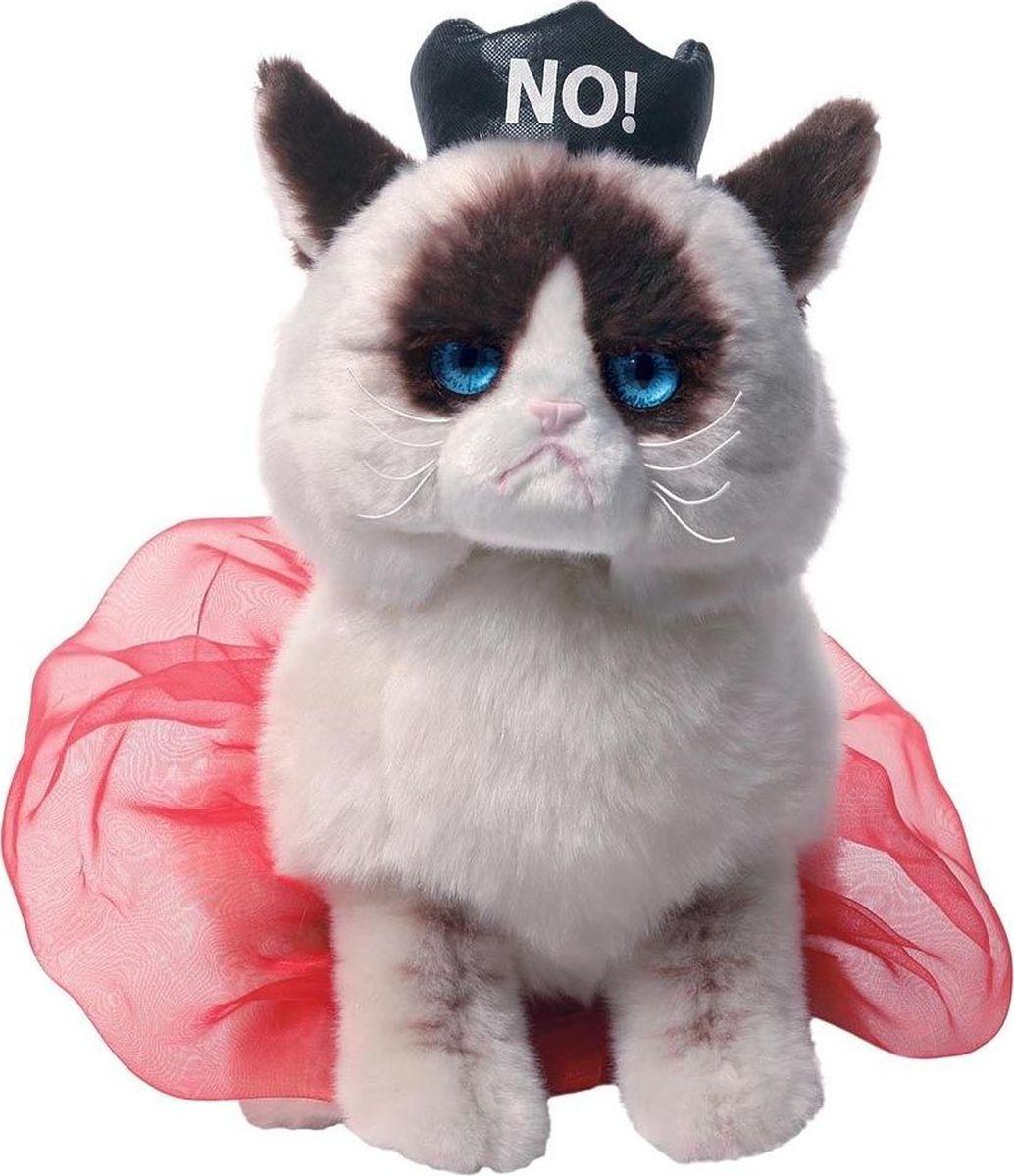 Gund Мягкая игрушка Queen Grumpy Cat 23 см gund мягкая игрушка grumpy cat 23 см
