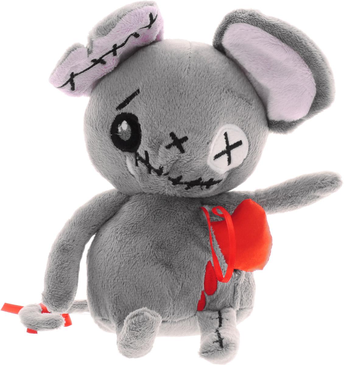 Мягкая игрушка Magic Bear Toys Мышь живое сердце, 20 см