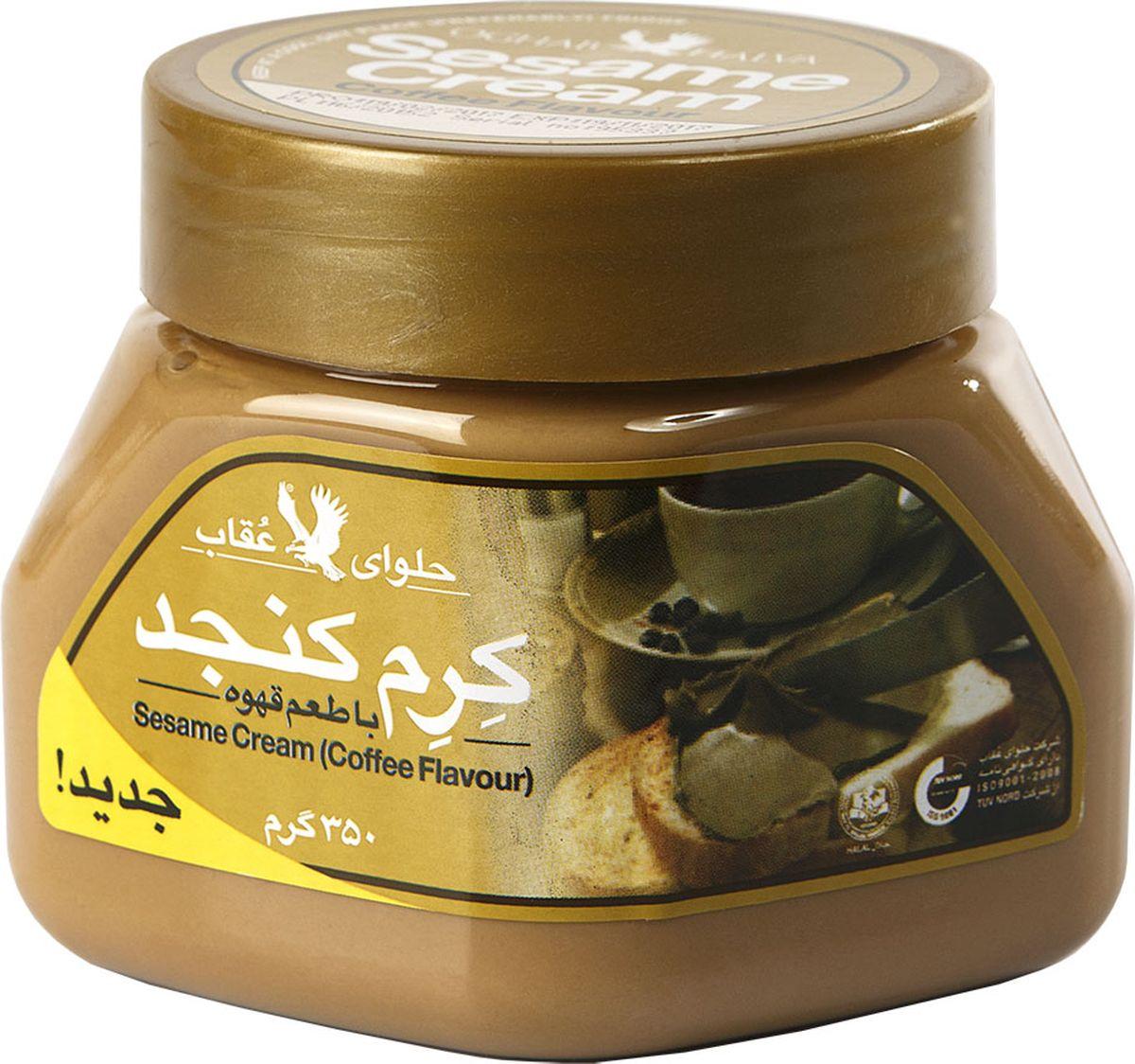 Oghab крем кунжутный с кофе, 350 г вода aqua minerale с газом 0 6 л 12шт