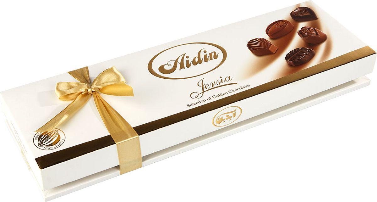 Aidin конфеты ассорти из темного и молочного шоколада, 100 г6260109280237Шоколад - одно из самых популярных лакомств. Компания Aidin начинает свою историю с 1945 года. Покупая продукцию Aidin, можете быть уверены в том, что в изысканных сладостях соединились вкус и наслаждение. Высокое качество продукции продиктовано строгими законами Исламской республики.