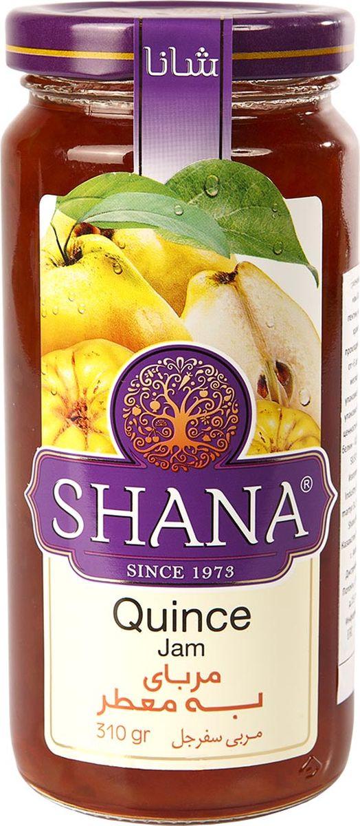 Shana джем из айвы, 310 г hipp пюре яблоко клубника банан с 6 месяцев 100 г