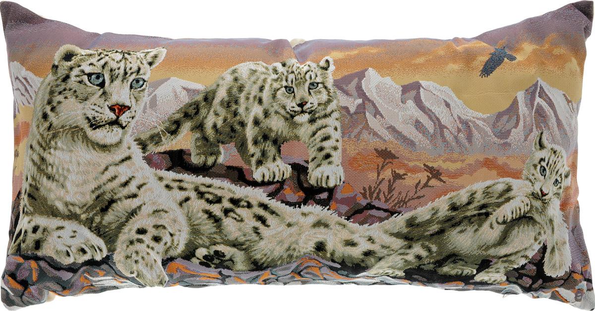 Подушка декоративная Рапира Барсы, 33 х 66 см подушка декоративная рапира баловни такса мячики 35 х 90 см