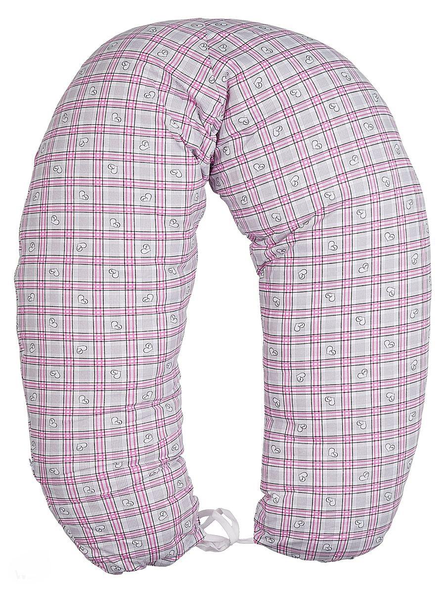 40 недель Подушка для кормящих и беременных цвет розовый серый 170 смБХТ-170/Многофункциональная подушка с наполнителем из холлофайбера подходит для кормления и отдыха - обеспечивает комфорт мамы и малыша.В период беременности ее удобно использовать, подкладывая под живот или спину. Для уменьшения нагрузки на спину, плечи, руки и шею во время кормления расположите подушку вокруг талии. Для поддержания ребенка в различных положениях и зашиты его от падения, следует поместить малыша в центр подушки.Модель со съемным чехлом из хлопкового полотна.Размер 170 х 30 см.