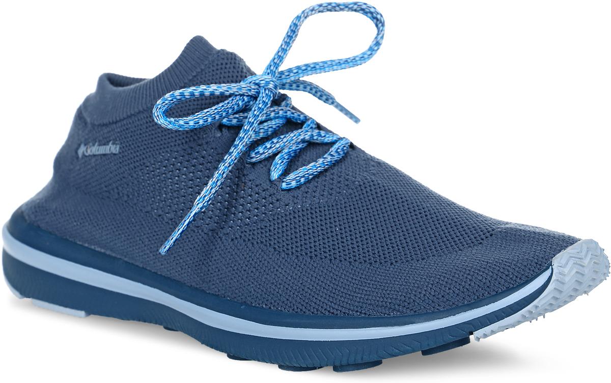 Кроссовки женские Columbia Chimera Lace, цвет: темно-синий. 1719231-554. Размер 7 (37,5)1719231-554Легкие женские кроссовки Chimera Lace от Columbia прекрасно подойдут для активного отдыха.Верх модели выполнен из текстильной сетки по бесшовной технологии, благодаря чему обеспечивается комфортная посадка по ноге. Модель фиксируется на ноге шнуровкой. Промежуточная подошва, выполненная из материала Techlite, обеспечивает отличную амортизацию и поддержку. Подметка исполнена из EVA-материала c резиновым протектором.Такие кроссовки отлично подойдут для пеших прогулок и походов.