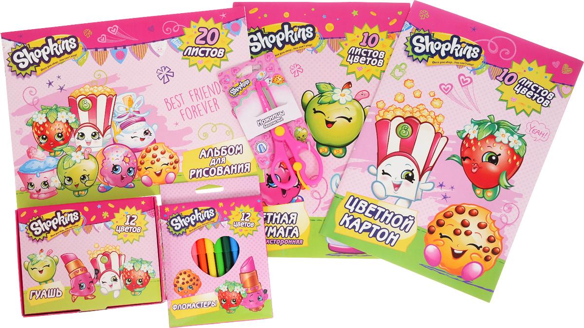 Shopkins Набор для детского творчества 6 предметов -  Канцелярские наборы