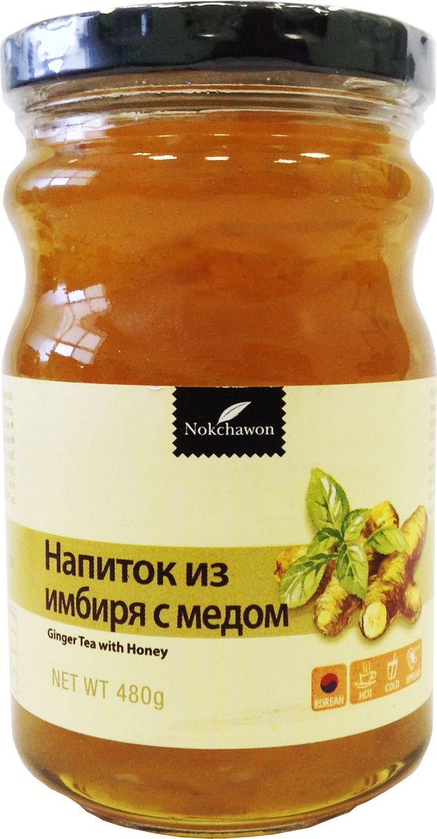 Nokchawon напиток из имбиря с медом, 480 гжва002Напиток обладает приятным пряным вкусом, согревающим в холода, и сладким ароматом меда. Имбирный напиток хорош при первых признаках простуды. Имбирь разогревает тело. Помогает циркуляции крови, улучшает память. Улучшает пищеварение и способствует выведению шлаков из организма. Способ применения: 2-3 ложки (20 г.) смешать с теплой или холодной водой. Напиток по консистенции похож на джем, можно намазывать его на хлеб.
