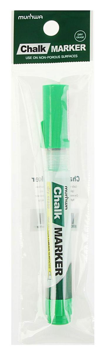 MunHwa Маркер меловой цвет зеленыйCM-04Меловой маркер на спиртовой основе. Можно использовать для письма на стекле, маркерных досках или любой гладкой поверхности.Маркер меловой MunHwa поможет организовать ваше рабочее пространство и время.