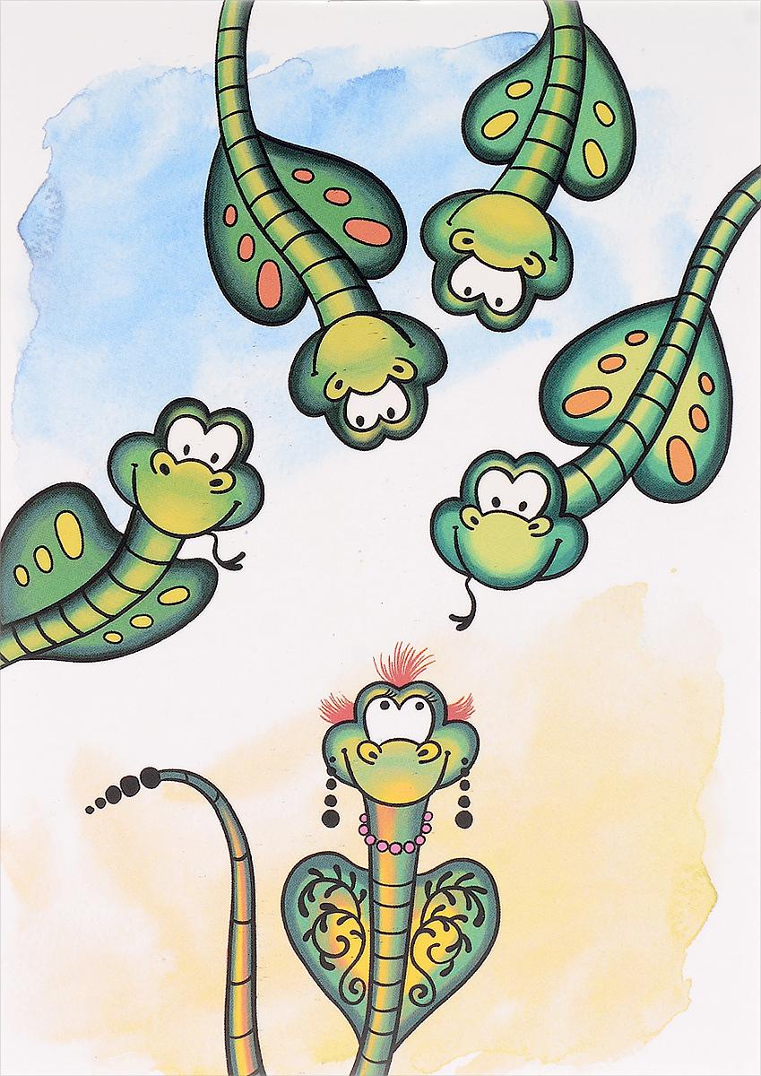 Marker Записная книжка Змеи 24 листа в клеткуM-1560640N-1Записная книжка Marker Змеи подойдет для различных записей любому современному человеку.Обложка выполнена из картона и оформлена оригинальным авторским рисунком. Внутренний блок состоит из 24 листов в клетку с забавными рисунками.
