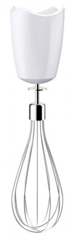 Braun MQ10, White насадка-венчик для блендераMQ10Венчик для погружных блендеров Braun MQ10 был разработан, чтобы помочь вам в решении повседневных кулинарных задач не покидая кухню и помогая легко готовить здоровую еду.Насадка-венчик совместима со всеми погружными блендерами серий Multiquick 5, 7 и 9 с металлической ногой. Её можно мыть в посудомоечной машине.