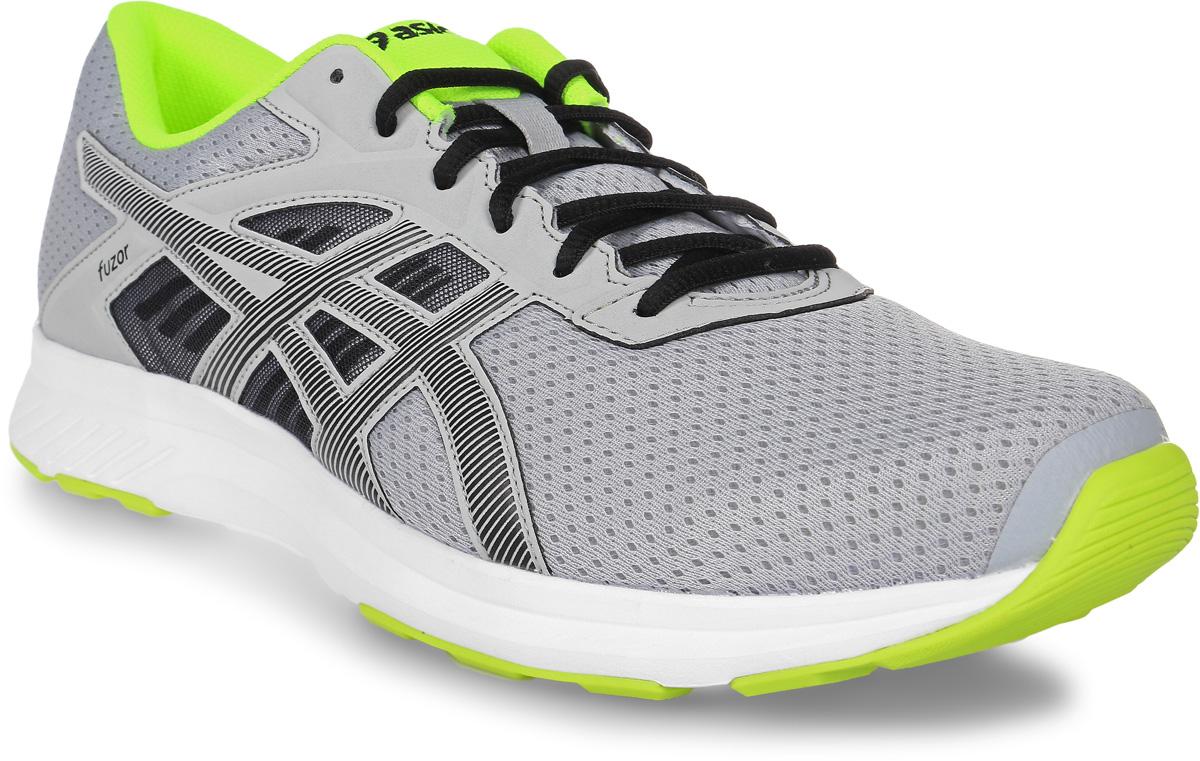 Кроссовки для бега мужские Asics Fuzor, цвет: серый. T6H4N-9690. Размер 12 (45)T6H4N-9690Выберите стиль, который позволит вам отлично выглядеть и использовать все преимущества спортивной обуви. Эти легкие беговые кроссовки для мужчин обеспечивают комфорт за счет дышащего сетчатого верха. Кроссовки Asics Fuzor одинаково хорошо выглядят и работают на тротуарах города и на пересеченной местности. Дышащая сетка для чувства прохлады. Комфорт каждодневных пробежек благодаря легкой амортизации.