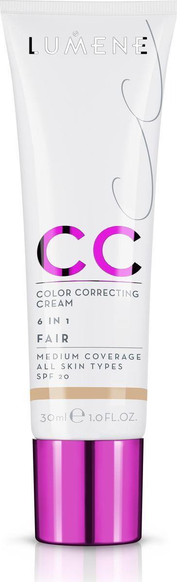 Lumene Тональное средство CC-крем SPF 20 Натуральный, 30 млNL290-82820Невесомое, но при этом стойкое тонирующее средство CC-крем Абсолютное совершенство для безупречного покрытия. Подстраивается под естественный оттенок кожи. Может использоваться самостоятельно или как база под макияж. Обеспечивает уход за кожей и защиту. Подходит для всех типов кожи. Оттенок Натуральный.