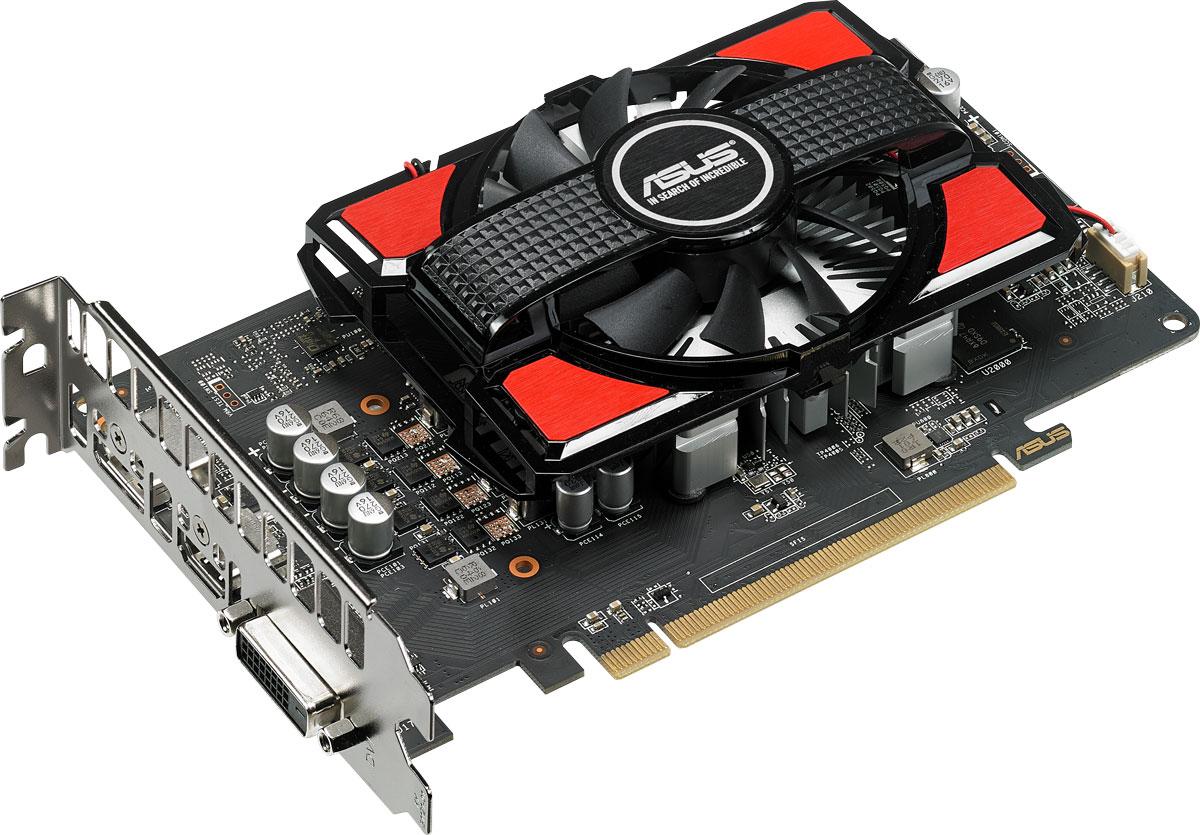 ASUS Radeon RX 550 4GB видеокартаRX550-4GASUS Radeon RX 550 – это компактная видеокарта с эффективным кулером, в состав которого входит пыленепроницаемый вентилятор с увеличенным сроком службы. При ее изготовлении применяются высококачественные компоненты, а в комплект ее поставки включена эксклюзивная разгонная утилита GPU Tweak II с модулем онлайн-трансляций XSplit Gamecaster.В современных видеокартах ASUS применяются отборные компоненты (технология Super Alloy Power II), которые обладают непревзойденной энергоэффективностью, пониженной рабочей температурой и улучшенными характеристиками. Высокому качеству готового устройства также способствует полностью автоматизированный процесс производства (технология Auto-Extreme).Вентилятор, используемый на видеокарте ASUS Radeon RX 550, является пыленепроницаемым, соответствуя требованиям стандарта IP5X. Это означает его долговечность, что в свою очередь увеличивает срок службы всего устройства.Современные видеокарты ASUS совместимы с эксклюзивной утилитой GPU Tweak II, с помощью которой можно получить полный контроль над графической подсистемой компьютера. Например, новая функция Gaming Booster позволяет моментально выделить все доступные вычислительные ресурсы под 3D-приложение, чтобы обеспечить максимальную производительность.В комплект поставки видеокарты входит утилита XSplit Gamecaster, предназначенная для записи и трансляции процесса игры в режиме реального времени.