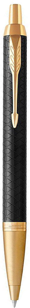 Parker Ручка шариковая IM Premium Black/Gold GT автоматическая шариковая ручка parker im black gt s0856440