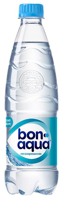 BonAqua Вода чистая питьевая негазированная, 0,5 л739921BonAqua - это кристально чистая питьевая вода, высокого качества.BonAqua - известная и любимая в России марка. Производство воды Bon Aqua началось в Германии в 1988 году. В России запуск питьевой воды Bon Aqua был успешно осуществлен в 1994 году.BonAqua проходит 7-ми ступенчатую систему очистки и водоподготовки. Производится в строгом соответствии с высочайшими стандартами качества компании Coca-Cola. Содержит минеральные элементы (Ca, Mg). Обладатель золотой медали в категории Бутилированная вода выставки Вода: экология и технология (ЭКВАТЭК) .В России BonAqua 6 раз признавалась Товаром Года.Уважаемые клиенты! Обращаем ваше внимание на то, что упаковка может иметь несколько видов дизайна. Поставка осуществляется в зависимости от наличия на складе.