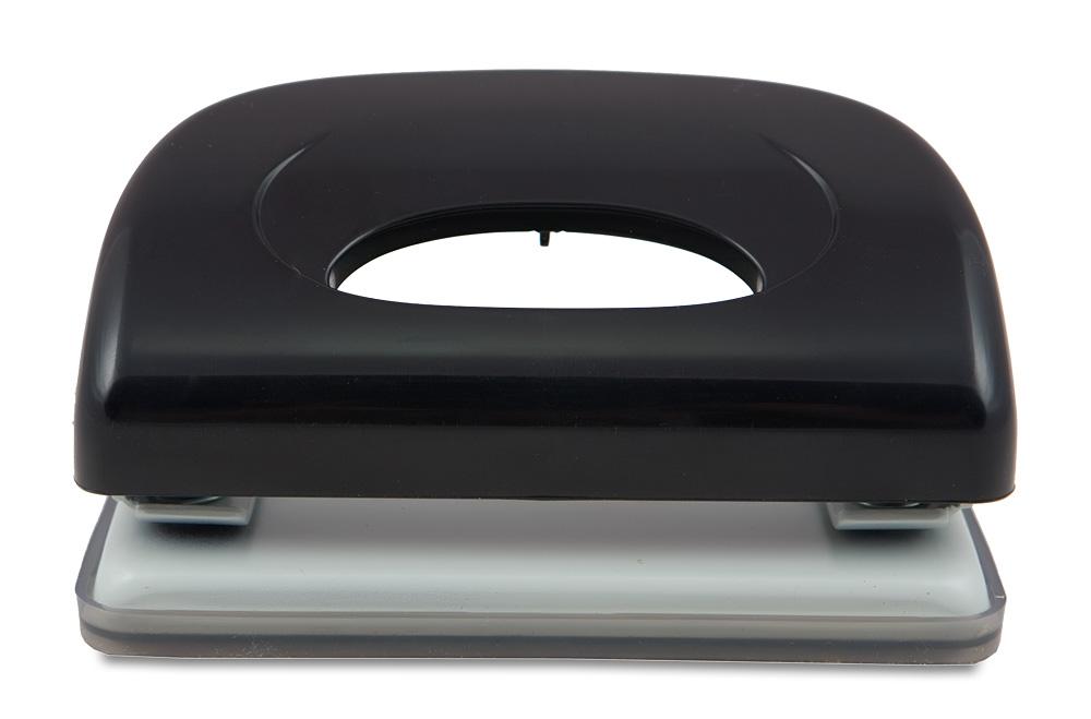 Kw-Trio Дырокол Dolphin 091X9 цвет черный 10 листов091X9blackДырокол KW-trio серии Dolphin черного цвета. Способен пробивать до 10 листов бумаги плотностью 80гр/м2. Диаметр отверстий 6мм, снабжен пластиковой выдвижной линейкой и поддоном для конфетти