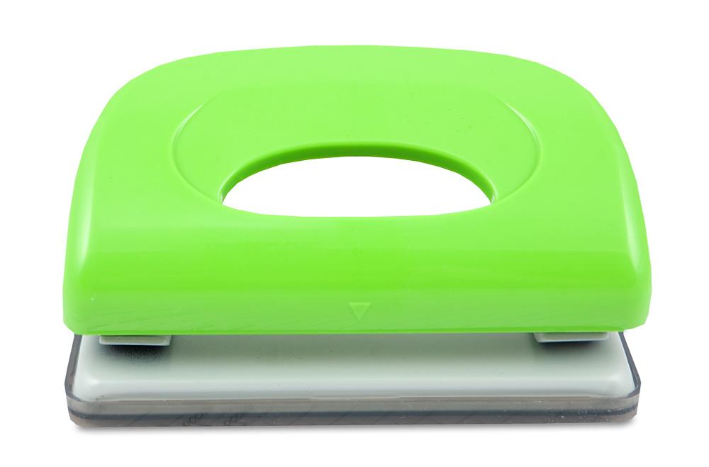 KW-trio Дырокол Dolphin 091X9 цвет зеленый 10 листов