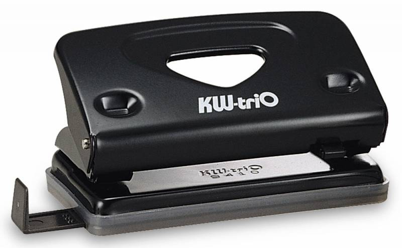 KW-trio Дырокол Classic 941 цвет черный 10 листов