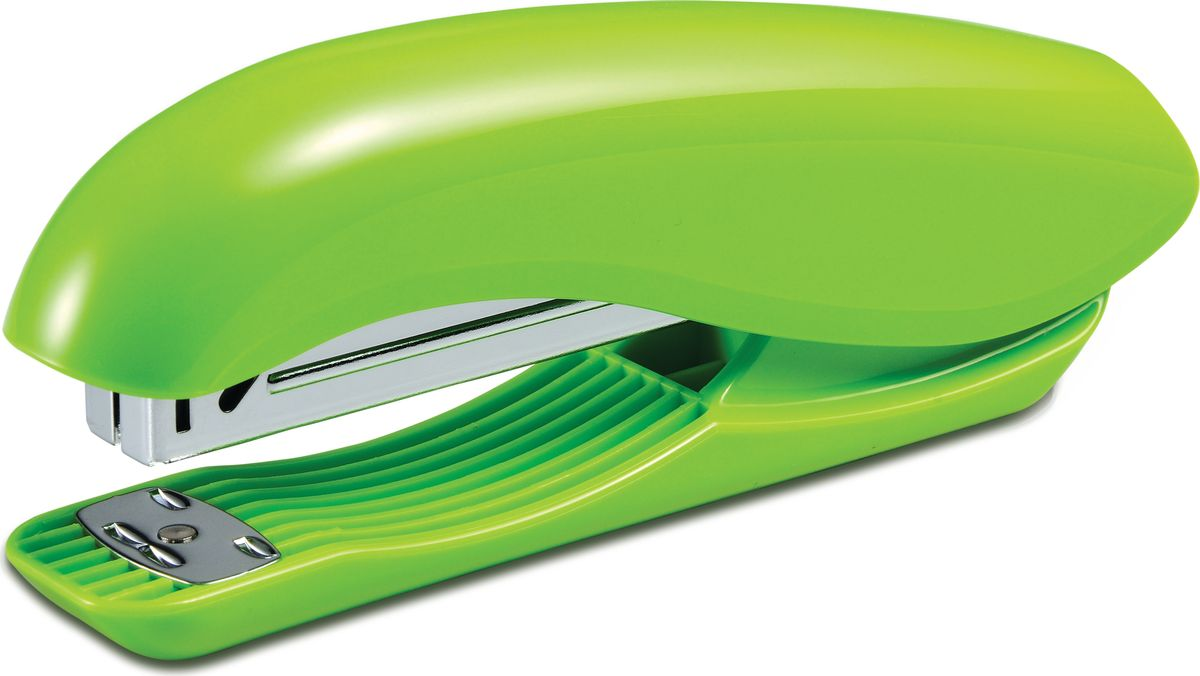 KW-Тrio Степлер Dolphin 20 листов цвет зеленый степлер ручной kw trio 056c3 mini dolphin 24 6 26 6 15листов встроенный антистеплер ассорти 50скоб