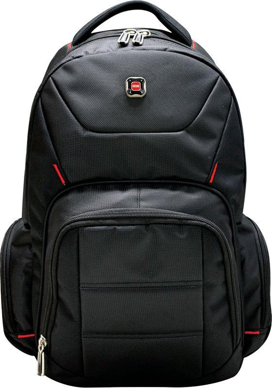 Berlingo Рюкзак Sport Classic-1RU01697Рюкзак Berlingo Sport. Classic-1 - это невероятно привлекательный аксессуар.Серия Sport - включает в себя стильные рюкзаки для старшеклассников и студентов, а также классические рюкзаки для людей, ведущих активный образ жизни. Рюкзак изготовлен из высокопрочного полиэстера, имеет одно основное отделение и три внешних кармана на молнии. Рюкзак дополнительно оснащен внутренним отделением для ноутбука. Уплотненная спинка и лямки делают этот рюкзак надежным и удобным.