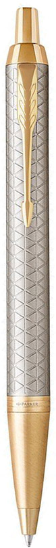 Parker Ручка шариковая IM Premium Warm Silver GT автоматическая шариковая ручка parker im black gt s0856440