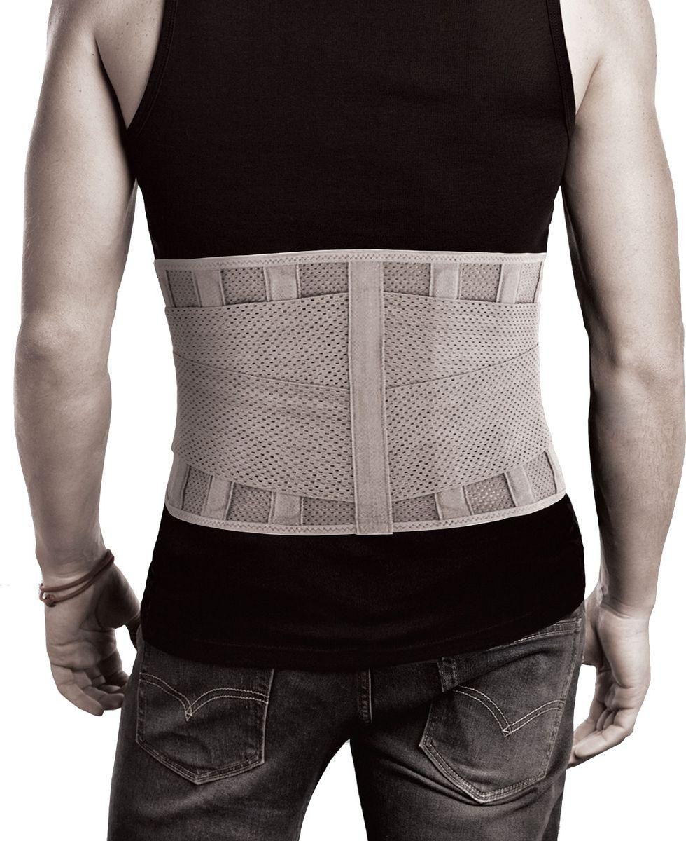 Timed Корсет поясничный средней фиксации TI-341, Высота 21см. Размер 4/XLTI-341Дискомфорт и боль в спине настигает внезапно и к ним мы никогда не бываем готовы. Вы сможете выровнять осанку, избавится от перенапряжения в спине, облегчить состояние после операции, травм, во время спортивных и повседневных физических нагрузок. Корсет ортопедический поясничный TI – 341 обеспечивает фиксацию и разгрузку поясничного отдела позвоночникаОсобенности: • высота 21 см • 4 ребра жесткости• цвет: бежевый • надевать лежа на спине на нижнее бельеРазмер S объем по талии (см) 65-85 Размер M объем по талии (см) 83-100 Размер L объем по талии (см) 98-115 Размер XL объем по талии (см) 113-130Размер XXL объем по талии (см) 128-140 Производство: Россия