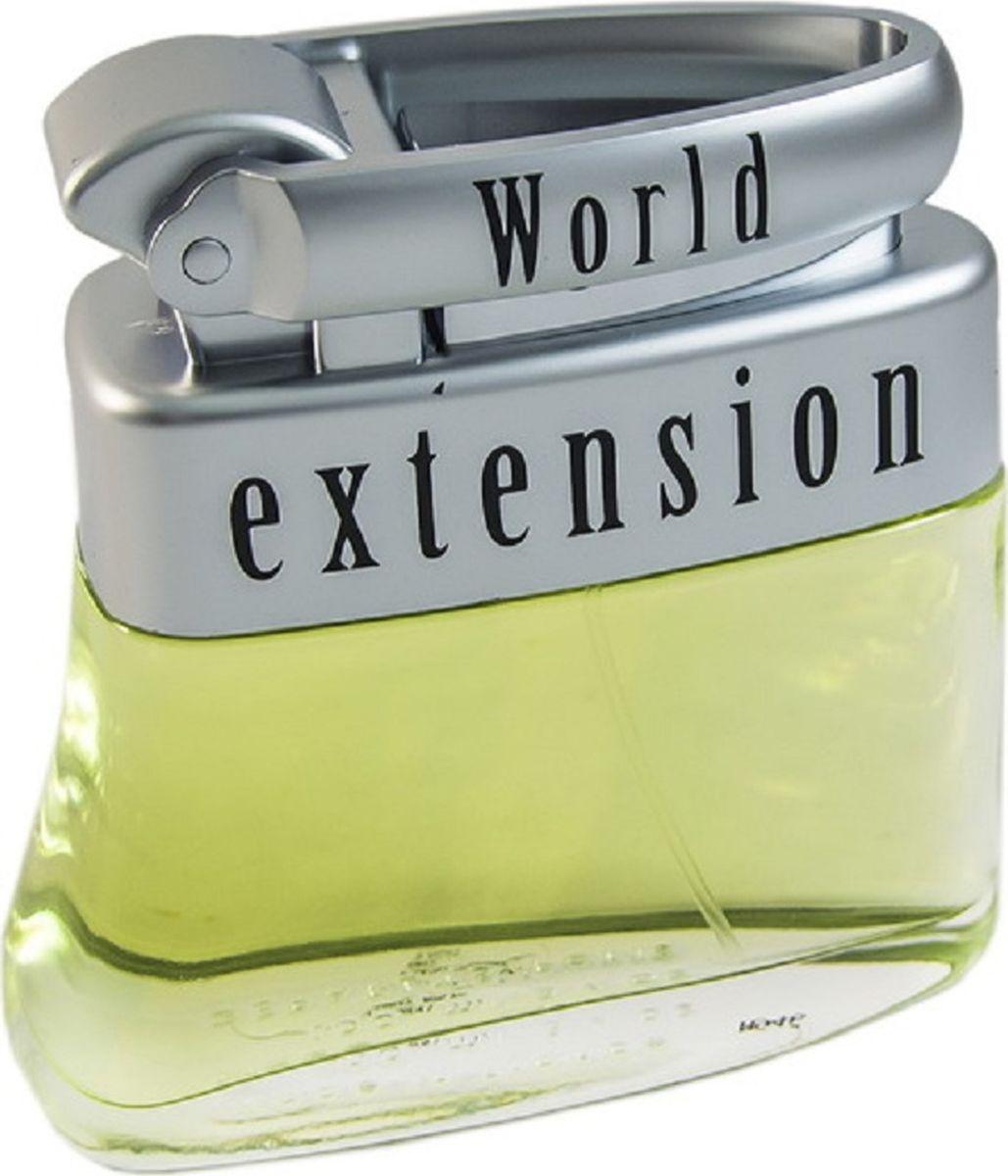 Geparlys Туалетная вода World Extension men, 100 мл3700134400208Известный аромат Geparlys WORLD EXTENSION men придется по вкусу всем ценителям классики. Древесно-цитрусовый, пряный, умеренный. Основная парфюмерная композиция: имбирь, чайное дерево, гранат, амбра, цедра.