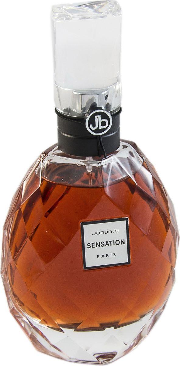 Geparlys Парфюмерная вода Johan.B Sensation women Линии Johan.B, 100 мл3700134404787Яркий, искрящий, волнующий аромат создан для удовольствия и наслаждения, гармонии окружающего мира, он наполняет жизнью и энергией, помогает прочувствовать все краски и эмоции, которые нас окружают. Основная парфюмерная композиция: пачули, миндаль, цветы вишни, бобы тонка.