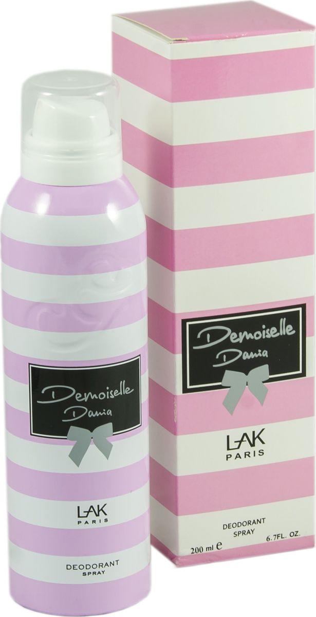 Geparlys Парфюмированный дезодорант для женщин Deo Dania Demoiselle линии Parfums By Karen, 200 мл3700134406859Цветочный, легкий. Основная парфюмерная композиция: пион, смородина, зеленый чай, ландыш.