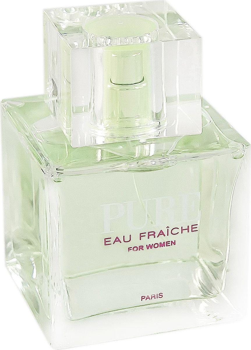 Geparlys Парфюмерная вода Pure Eau Fraiche women Линии Karen Low, 100 мл3700134407337Это прекрасная мечта для почитателей, ищущих способ уйти целиком в иную действительность, где все грезы осуществляются. Данный аромат так же хорош в холодное время года, когда свежесть аромата окутывает все. Основная парфюмерная композиция: Гранат, лайм, яблоко, пион, жасмин, лотос, амбре.