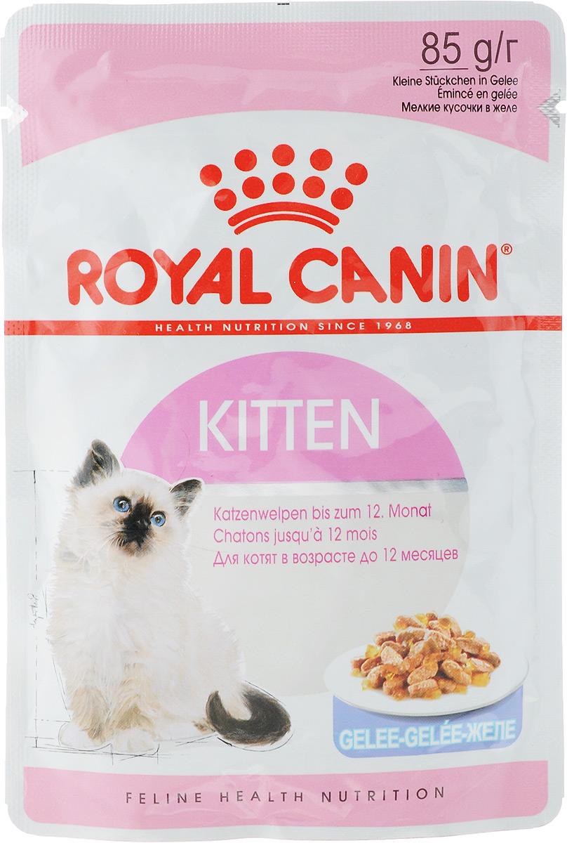 Консервы Royal Canin Kitten Instinctive, для котят с 4 до 12 месяцев, мелкие кусочки в желе, 85 г783001Консервы Royal Canin Kitten Instinctive - полноценное сбалансированное питание для котят с 4 до 12 месяцев.Котенок во 2-й фазе роста продолжает расти, только рост происходит не так активно, как в 1-й фазе, поэтому: - Он предпочитает специальную формулу Macro Nutritional Profile. - Укрепляется костная ткань котенка. Потребность котенка в энергии остается высокой, хотя и несколько меньшей, чем у котят 1-й фазы роста.- У котят прорезаются постоянные зубы. - Котенок 2-й фазы роста уже обладает собственной иммунной системой, однако его естественные защитные силы пока остаются уязвимыми.Пищевое предпочтение.Корм Kitten Instinctive имеет тщательно сбалансированную рецептуру, соответствующую оптимальной формуле Macro Nutritional Profile, инстинктивно предпочитаемой котятами во 2-й фазе роста. Легкое пережевывание.Размер и текстура кусочков корма идеально адаптированы для челюстей котенка. Естественная защита.Корм Kitten Instinctive помогает формированию естественной защитной системы организма котенка, стимулируя выработку антител благодаря маннановым олигосахаридам и комплексу антиоксидантов (витаминам E и C, таурину и лютеину).Состав: мясо и мясные субпродукты, злаки, экстракты белков растительного происхождения, субпродукты растительного происхождения, молоко и продукты его переработки, масла и жиры, минеральные вещества, дрожжи, углеводы. Добавки (в 1 кг):Витамин D3: 250 ME, Железо: 1,4 мг, Марганец: 0,44 мг, Цинк: 4,4 мг.Товар сертифицирован.Уважаемые клиенты!Обращаем ваше внимание на возможные изменения в дизайне упаковки. Качественные характеристики товара остаются неизменными. Поставка осуществляется в зависимости от наличия на складе.